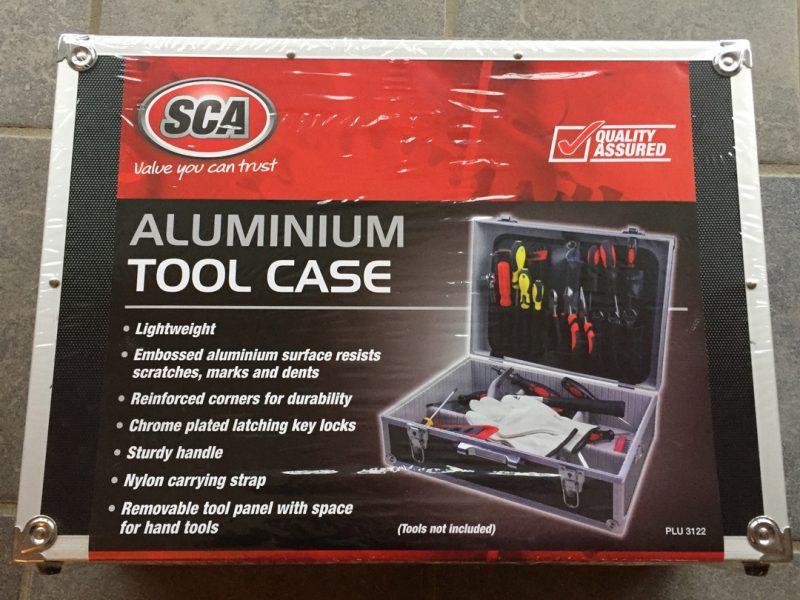 Aluminium tool case from Super-Cheap Auto